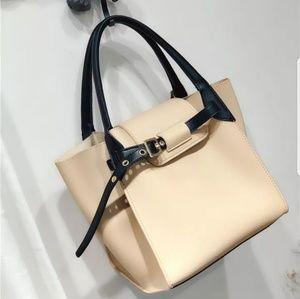 Trapeze Style Handbag